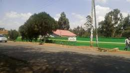 Very Prime 3/8 acre Ngong Town (Tarmac)