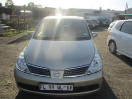 Nissan Tiida 1.6 2012 Model,5 Doors factory A/C And C/D Player
