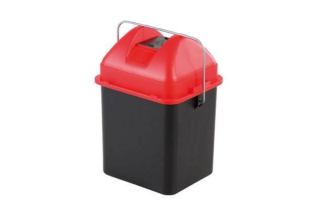 CUTII pentru colectarea bateriilor waste container