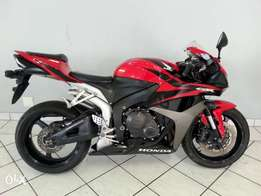 Honda CBR 600 RR Red & Black :.