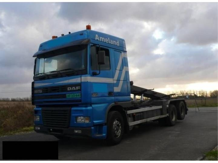 DAF xf95.430 container systeem - 2002