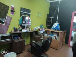 Barbershop and salon