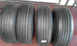 New Different size of tyres on special
