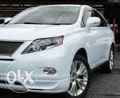 2010 Lexus RX450h hybrid fully loaded