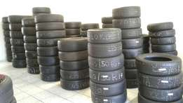 Second hand tyres and new, spare wheels, Rims