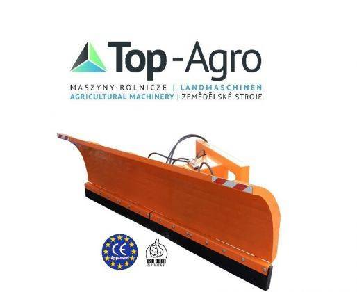 Top-Agro Municipal Snow Plough 1,8 Straight + Hydraulic - 2018