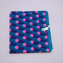 Afripride By Fashion Carnival 6 Yards - Blue & Pink