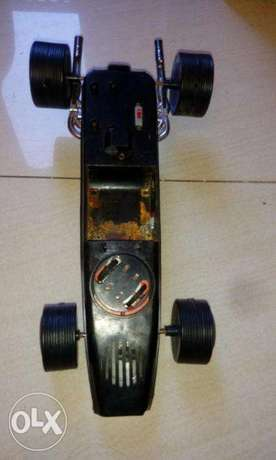 Rare vintage team lotus 49 ford f1 racer tin toy car برج حمود -  2