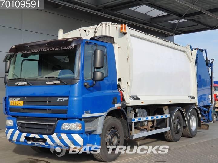 DAF CF75.250 6X2 Manual Lenkachse Euro 5 Geesink Aufbau - 2007