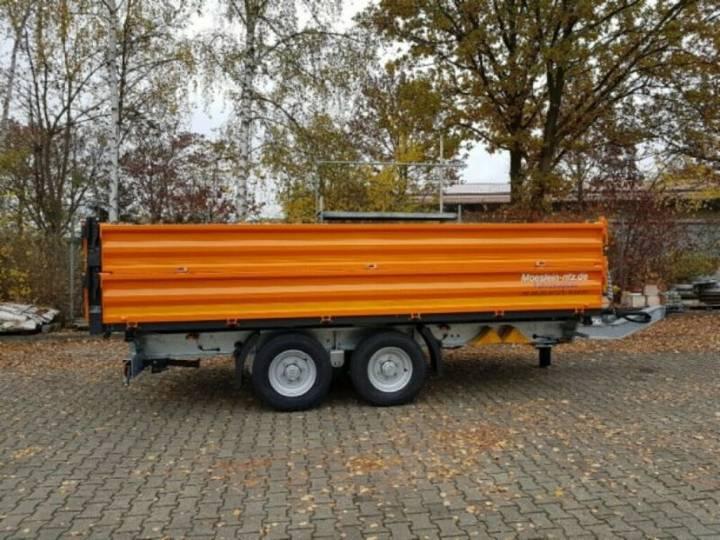 Möslein TTD13- BA Orange 13 t Tandem Kipper Tiefladermit - 2019