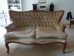 Antique 2 seater couch