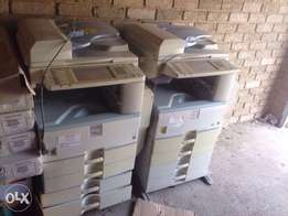 Large business scanner and printer