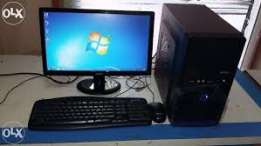 computer complet set for dual core for sale