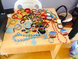 beautiful beads made necklaces