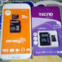 Advance Memory Card Or Tecno Memory Card 32GB