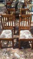 4 dining room chairs (350 each)