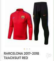 Brand new Barcelona tracksuit Red