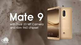 Huawei Mate 9 Brand new, Sealed with 1yr warranty,Free Glass & delivry