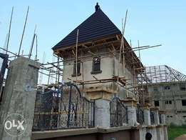 Brown Roofing Constructions