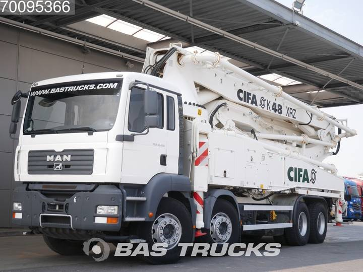TGA 41.430 M 8X4 Manaul Steel-Suspension Euro 3 - 2009