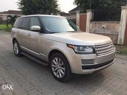 Range Rover HSE 2016 Foreign used