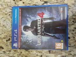 Uncharted 4 PS4 used