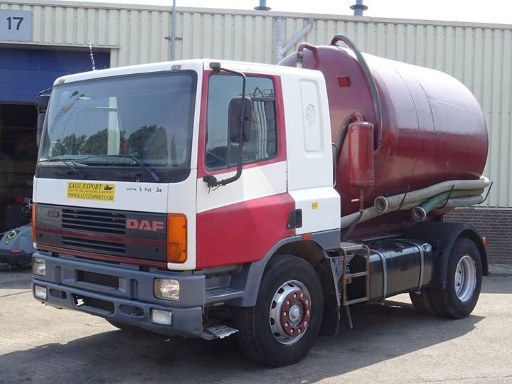 DAF 75CF 240HP Vacuum Toilet Truck 9.500L Good Condition - 1995