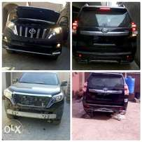 Upgrade your Toyota Prado from 2010 to 2016 model