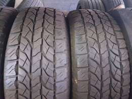 Various 17inch 4x4 tyres for sale