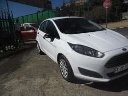 Ford Fiesta 1.4, 2015 model, White in color for sale