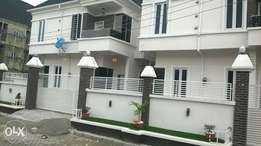 Luxurious 4 bedroom detached duplex with bq for sale at osapa lekki
