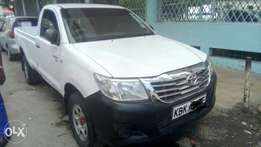 Locally used Toyota Hilux