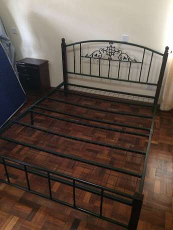 King size bed with matress Woodly - image 4