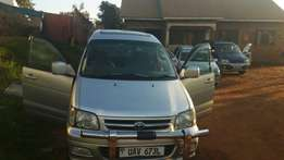 Toyota Noah super Lady owned Uav 673l leaving the country