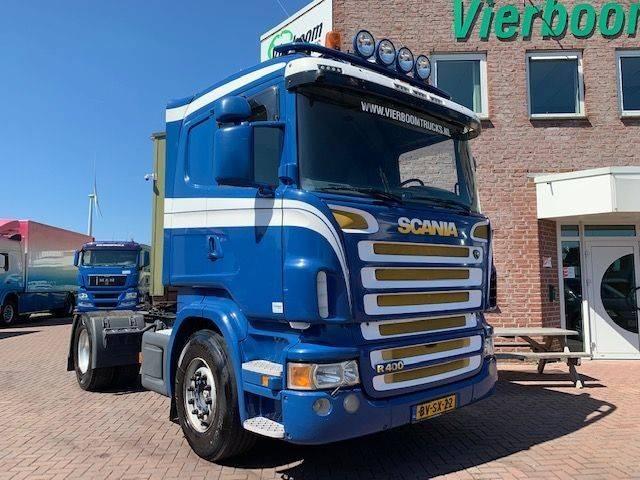 Scania R400 4X2TREKKER EURO5 ZWARE VOORAS HOLLAND TRUCK TOP - 2009