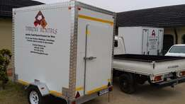 Mobile Freezer and VIP toilets for hire