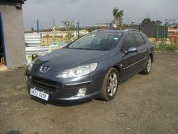 Peugeot 407 2.2 sw st sport, 5-doors, Factory A/c, C/d Player, Central