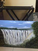 painting of Victoria Falls