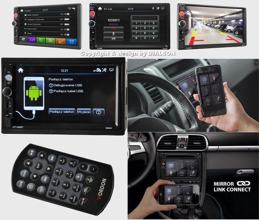 podłącz telefon do radia samochodowego