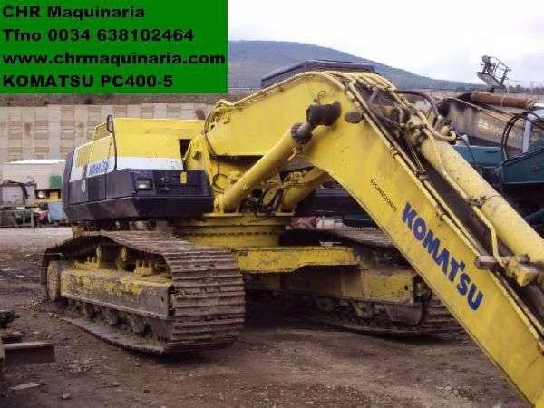 Komatsu PC400-5