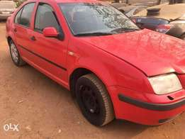Tokunbo Volkswagen Bora (Manual) for Quick Sale