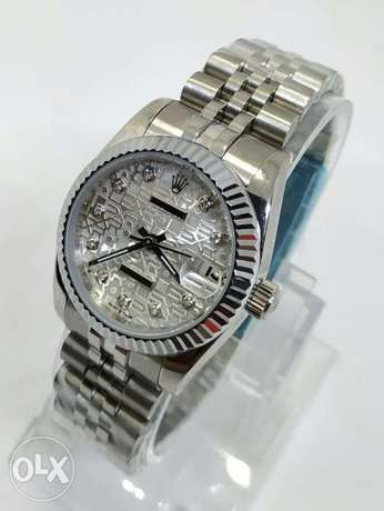 Rolex Date Just with Diamond