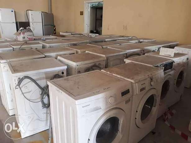 damage washing machine