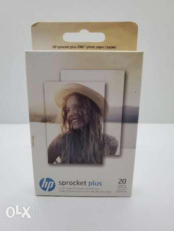 "Hp Sprocket plus instant photo printer photo paper (2.3"" x 3.4"")"