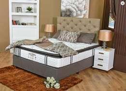 Bed Gold Hotel Range Mattress & Base Set Brand New Direct from Supplie