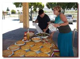 Caterer for business or private functions and parties