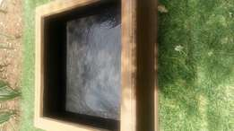 Fibre glass fish pond