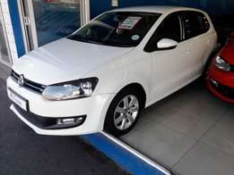 2010 Volkswagen Polo 1.6 Comfortline Manual white