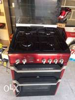 Gas Cooker Complete Burnas Stainless.