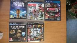 Ps3 Games from R150, Dualshock 3 controller at R500 and PS TV at R500